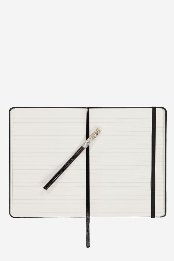A5 Buffalo Journal, BLACK