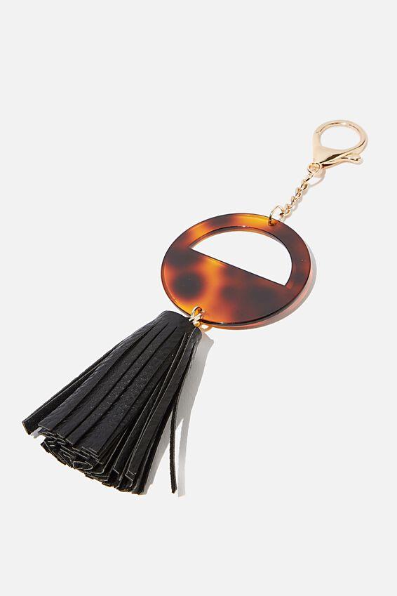 Bag Charm, TORTOISESHELL RING