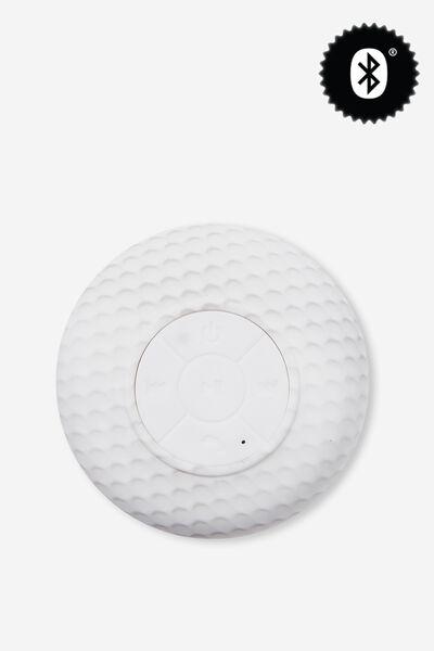 Waterproof Bluetooth Shower Speaker, GOLF BALL