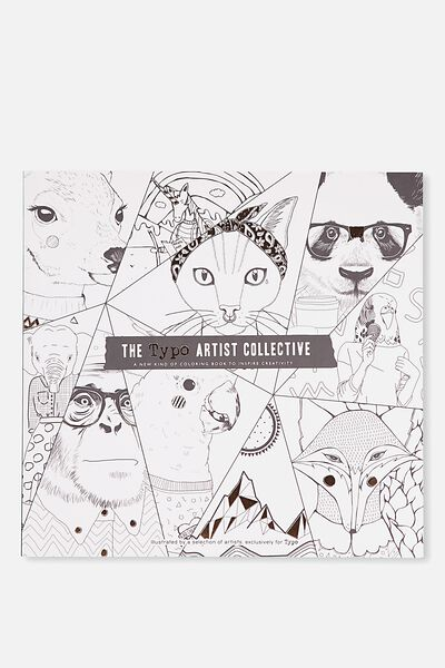 Between The Lines Colouring Book, ARTIST COLLECTIVE