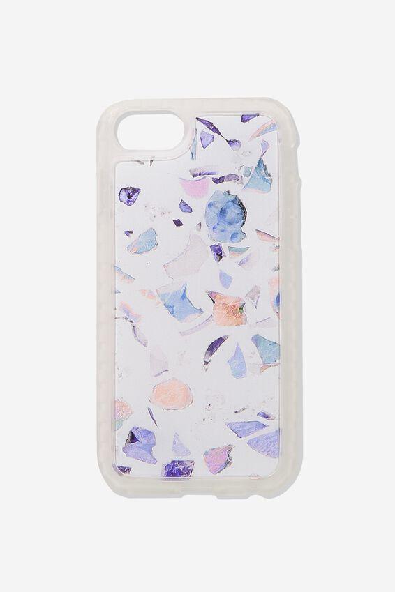 Superior Phone Case Universal 6,7,8, BLUE TERRAZZO