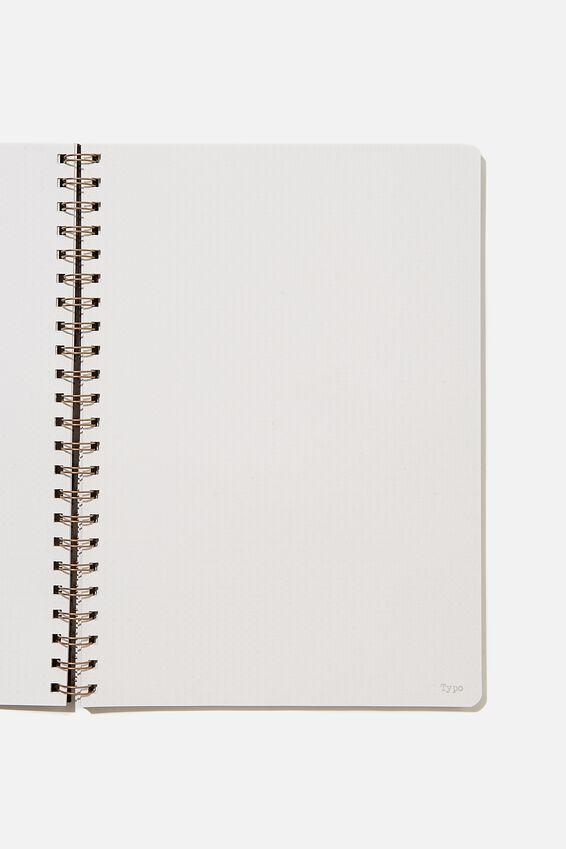 A4 Dot Daily Scribe Journal, WELSH SLATE