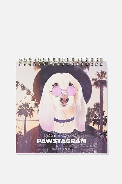 2020 Get A Date Flip Desk Calendar, PETSTAGRAM
