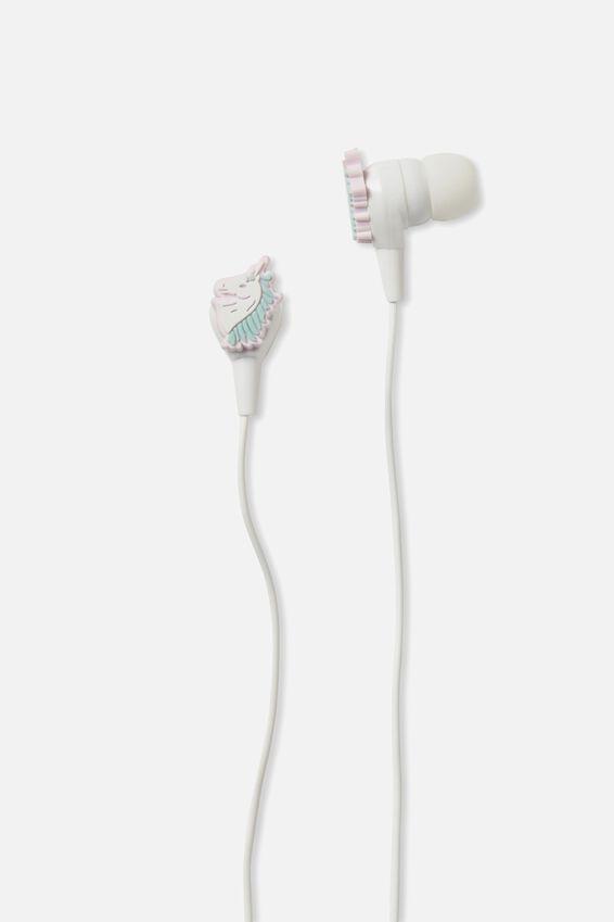 Novelty Earphones, UNICORN