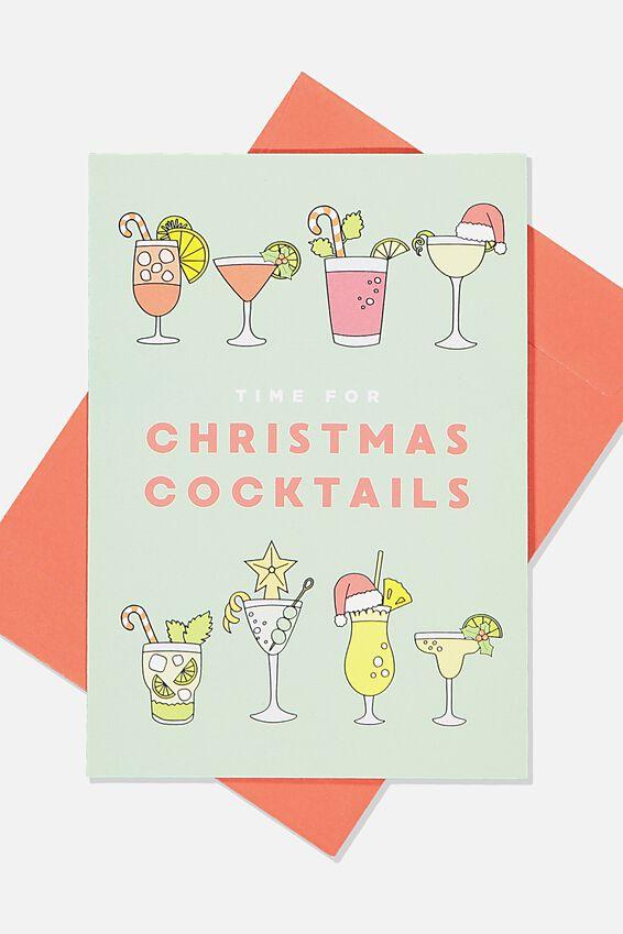 Christmas Card 2019, CHRISTMAS COCKTAILS