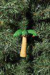 Resin Christmas Ornament, PALM TREE