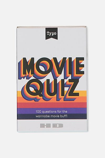 Pocket Trivia Game, MOVIE TRIVIA