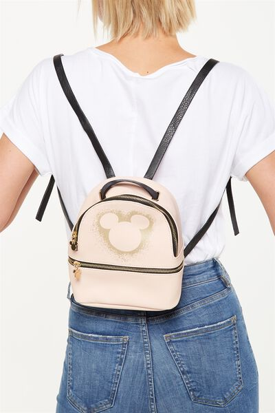 Mini Fashion Backpack, LCN PINK MICKEY