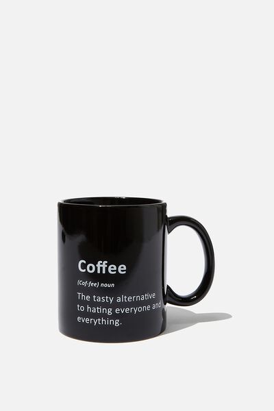 Anytime Mug, COFFEE DEFINITION