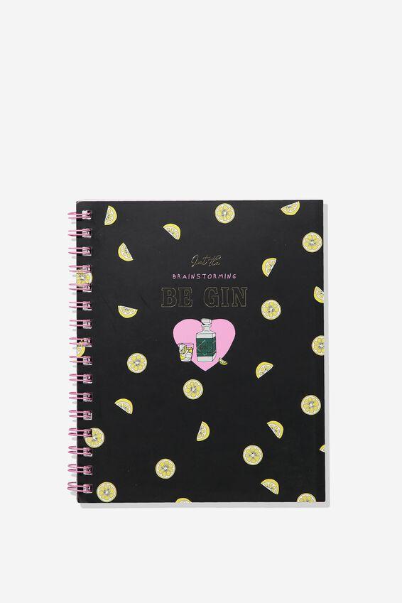 A5 Campus Notebook Dot Internal, BRAINSTORMING BE GIN!