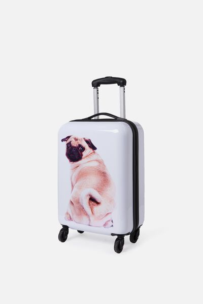Small Suitcase Bye Pug