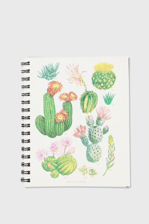 A5 Campus Notebook, CACTUS