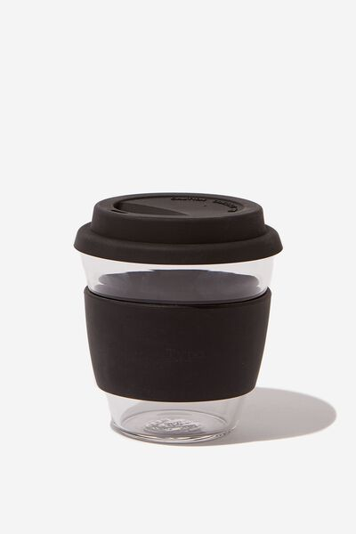 Give A Sip Cup 8Oz, BLACK