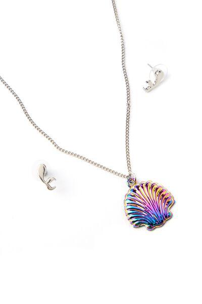 Necklace & Earring Set, MERMAIDS