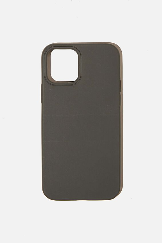 Slimline Recycled Phone Case Iphone 12, 12 Pro, COOL GREY