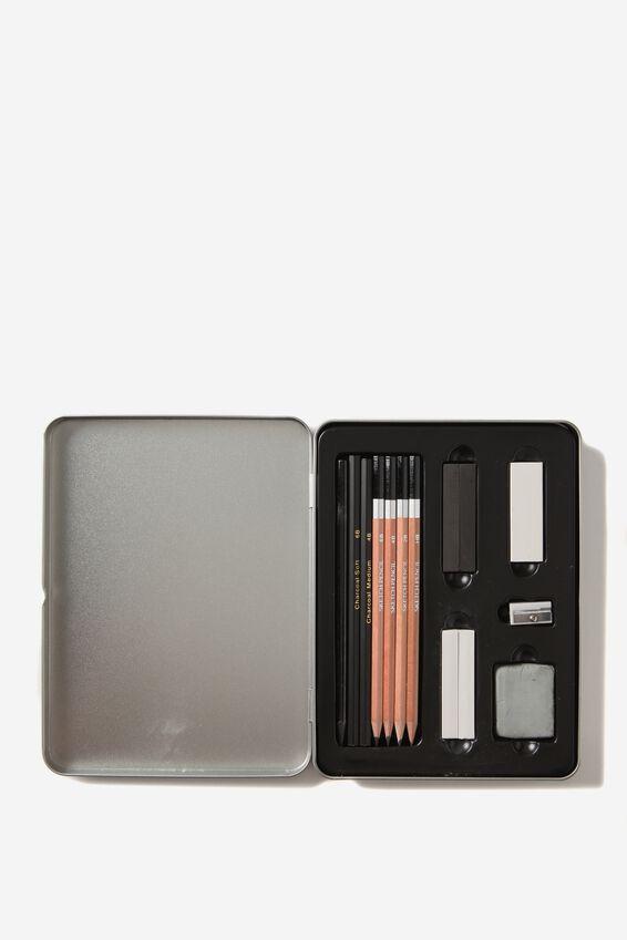 Sketch It Tin, GREY BLACK