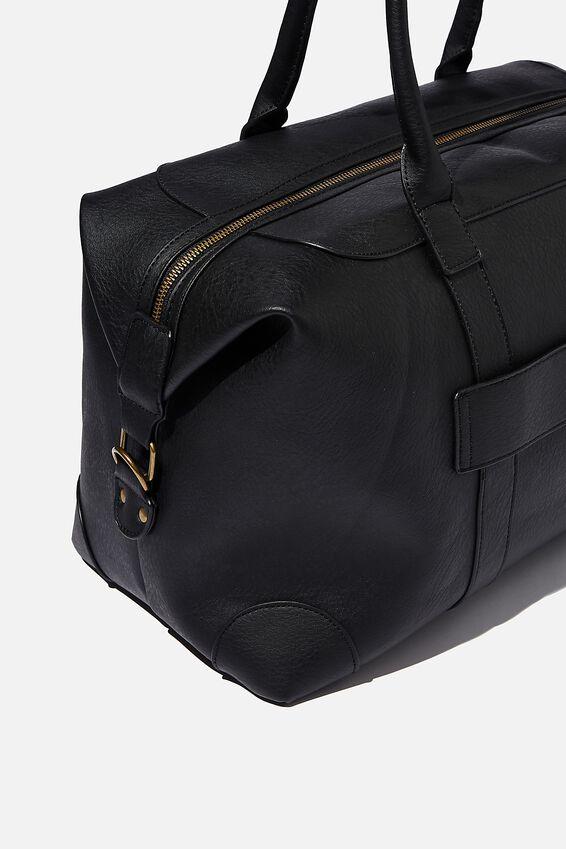 Nuevo Overnighter Bag, JETT BLACK