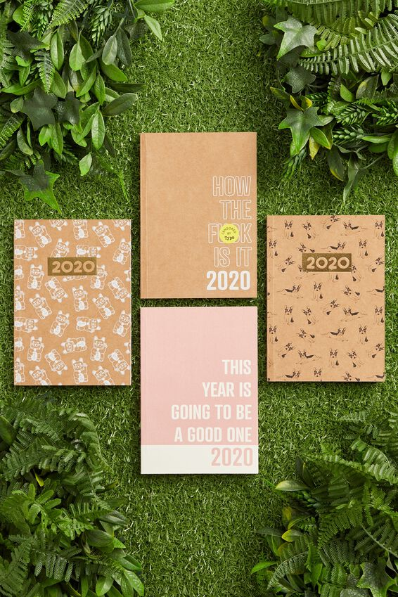 2020 A5 Recycled Weekly Diary, HOW THE F!*K!!