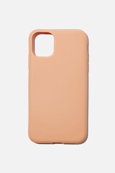 Recycled Phone Case iPhone 11, PEACH