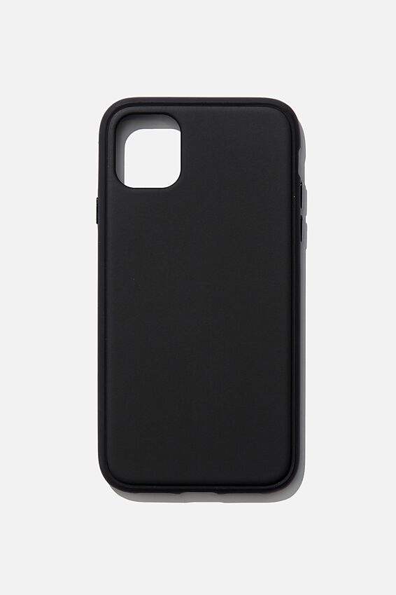 Snap On Protective Phone Case Iphone 11, MATTE BLACK