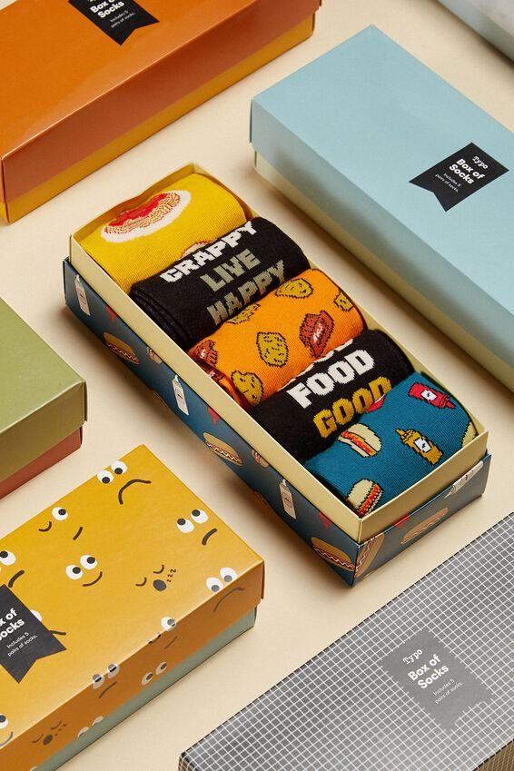 Box Of Socks, GOOD FOOD GOOD MOOD