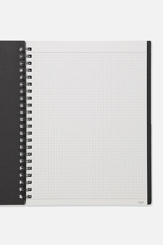 A4 Campus Notebook Grid Internal Recycled, REGIONS OF THE MIND