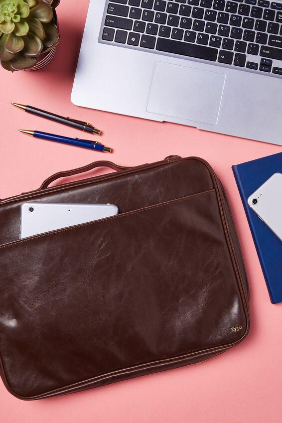 Mobile Laptop Folio, RICH TAN