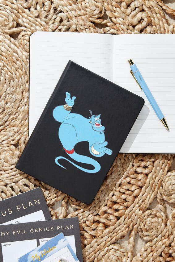 A5 Aladdin Notebook, LCN DIS ALADDIN GENIE