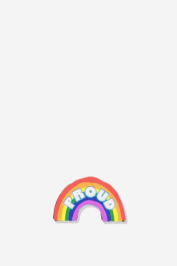 Enamel Stickers, RAINBOW PROUD