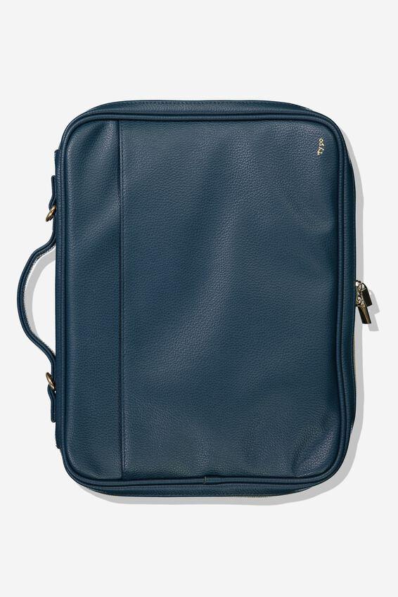 Mobile Laptop Folio, TEAL