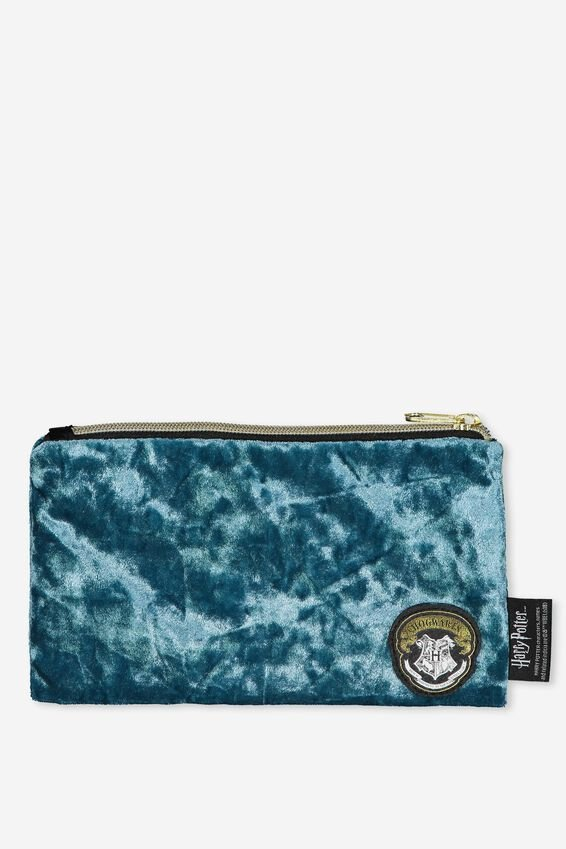 Harry Potter Pencil Case, LCN HP TEAL HOGWARTS