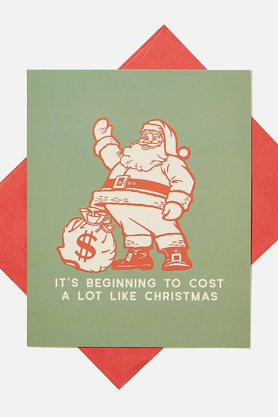 Christmas Card 2020, COST A LOT LIKE CHRISTMAS