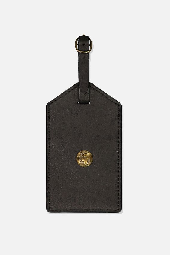 Bag Tag, BLACK WORLD GLOBE