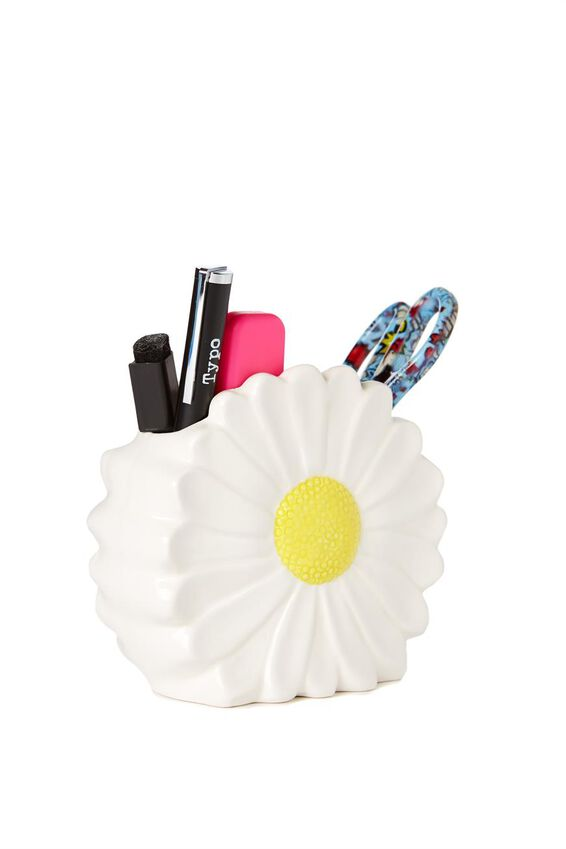 Pen Holder, DAISY