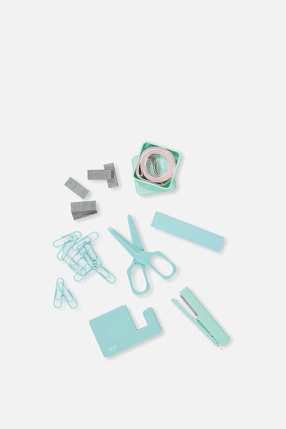 Mini Stationery Box Set, AQUA
