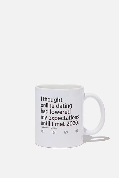 Limited Edition Anytime Mug, 2020 EXPECTATIONS
