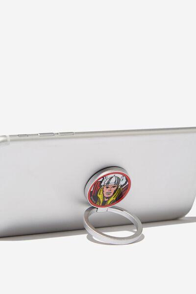 Licenced Metal Phone Ring, LCN MAR THOR