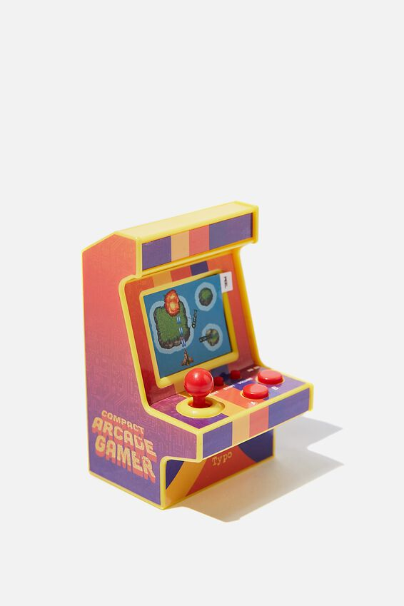 Compact Arcade Game, RETRO RED