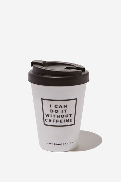 Take Me Away Mug, DO WITHOUT CAFFEINE
