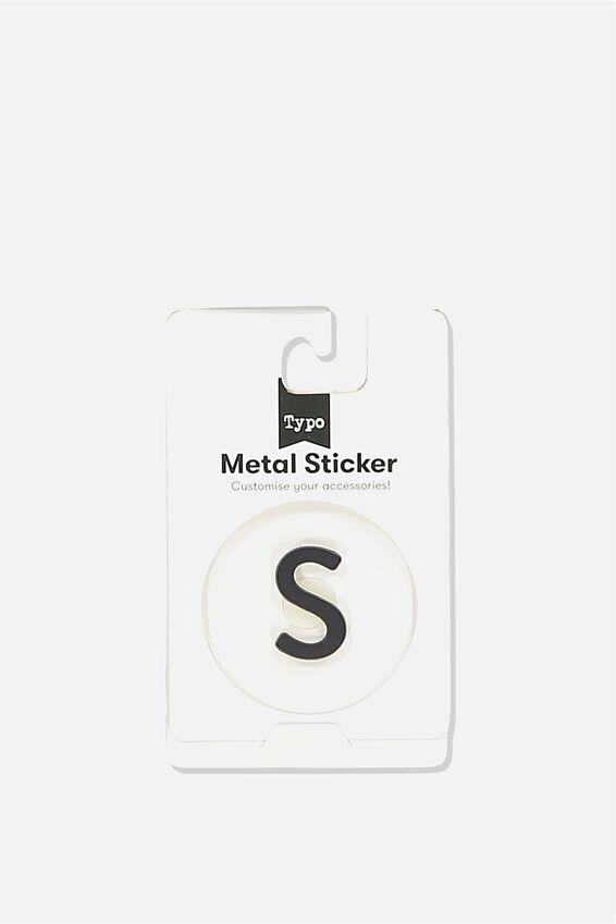 Metal Stickers, BLACK S