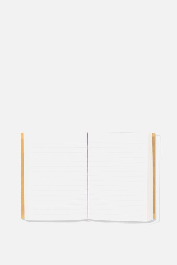 Press Stud Notebook, CRAFT DALMATION SPOT