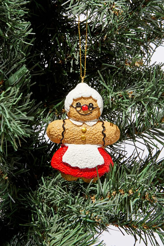 Christmas Ornament, GINGY MRS CLAUS