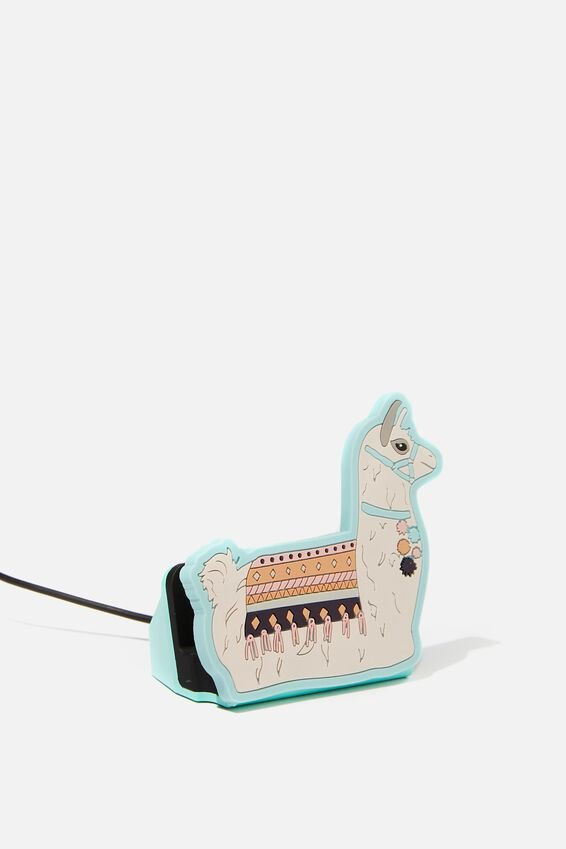 Novelty Phone Docking Station, LLAMA