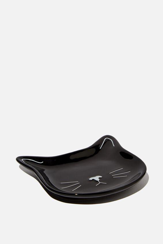 Small Trinket Tray, CAT FACE