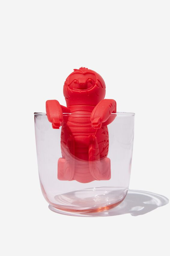 Novelty Tea Infuser, SLOTH RED