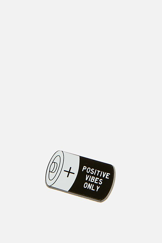 Enamel Stickers, POSITIVE VIBES