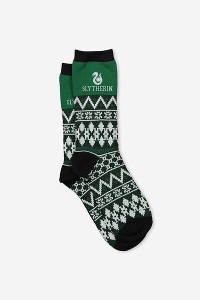 Mens Novelty Socks, LCN HP SLYTHERIN