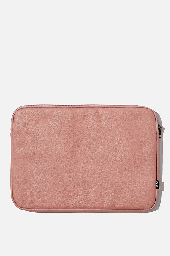 Take Charge Laptop Cover 13 inch, DUSTY ROSE W CAMEO GRID
