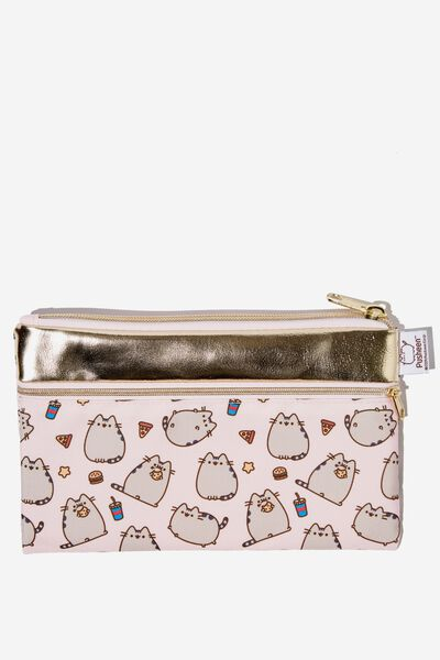 Archer Pencil Case, LCN PUSH PUSHEEN YARDAGE