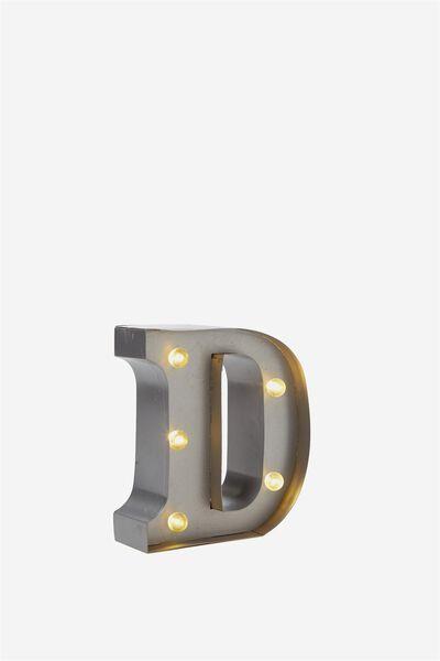 Mini Metal Letters Unique Letters Numbers & Symbols  Typo Decorating Design